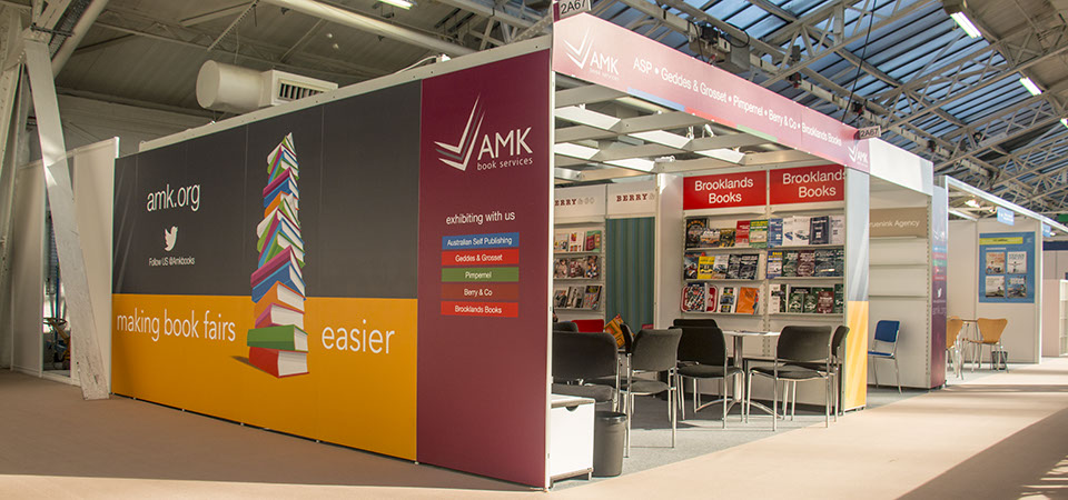 AMK Collective stand at the London Book Fair 2015