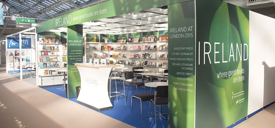 Ireland stand at the London Book Fair 2015