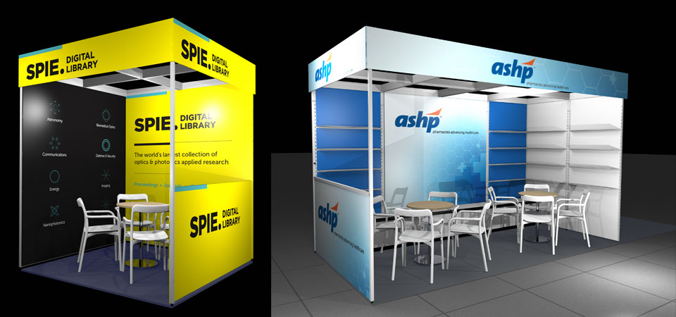 Brighten up your stand with graphics
